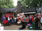 Jennifer Britt, Detroit Homeowner, Staves Off Eviction With Help of Occupy Detroit