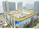 Chinese Developers Build Rooftop 'Villas' on Top of Shopping Mall