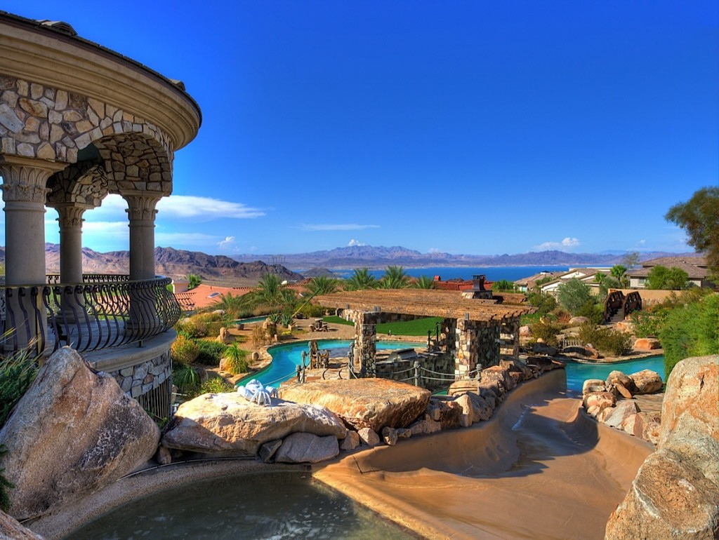 Nevada Mansion Backyard Water Park : Best Homes 2012 Coolest Houses of the Year