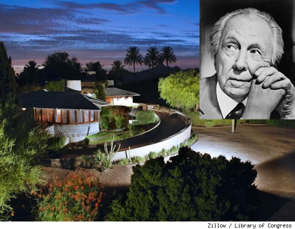 Frank Lloyd Wright Arcadia Arizona David design house