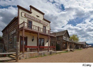 Billionaire Bill Koch Builds His Own Wild West Town On His
