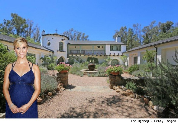 Reese Witherspoon home Ojai
