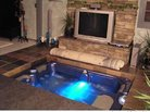 DIY Coolness: A Hot Tub in the Living Room? That's How Matthew Cole Rolls