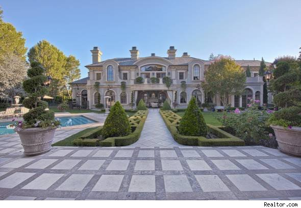 Maloof of real housewives of beverly hills lists beverly park home