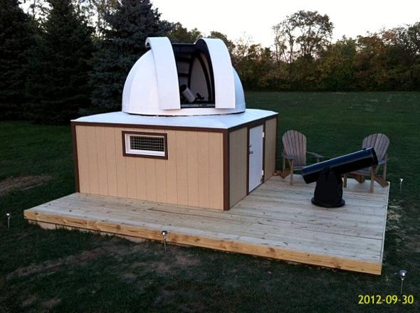 Understand why amateur astronomical observatory space All