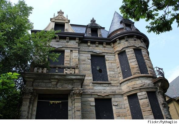 Cleveland's Franklin Castle is considered haunted