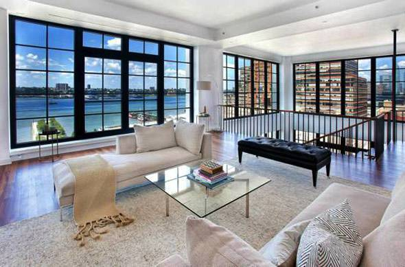 Manhattan penthouse with sky garage house of the day for Penthouses for sale in manhattan