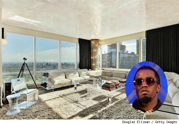 Sean Diddy Combs home New York
