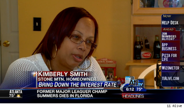 Kimberly Smith and her loan modification
