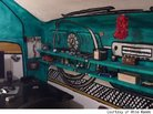 Otto Kusec of Croatia Paints Room to Look Like VW Beetle Interior