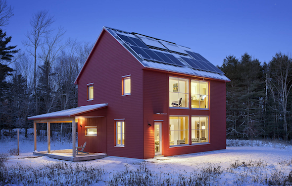 Energy efficient homes how they can boost your bottom for Energy efficient farmhouse plans