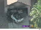 Video Shows Gas Thief Setting Self on Fire, Crashing Truck Into Home in Mesa, Ariz.
