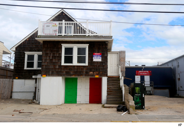 'Jersey Shore' home, Hurricane Sandy