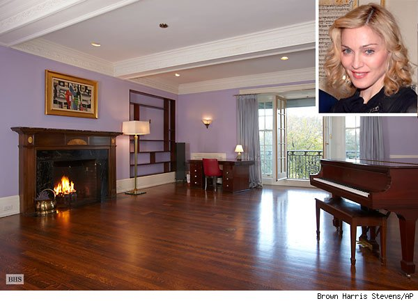 Madonna lists NYC apartment.