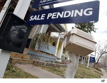 Pending home sales rise.