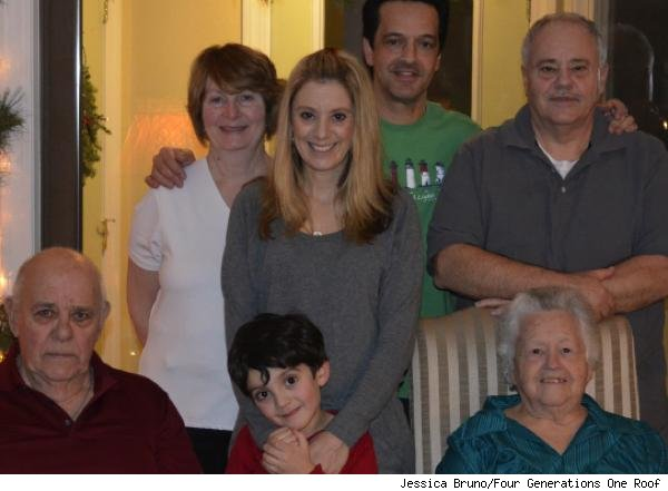 multigenerational home: Bruno family
