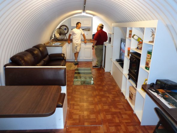 Backyard Underground Man Cave : The Mayan Apocalypse Could These Doomsday Bunkers Save You?