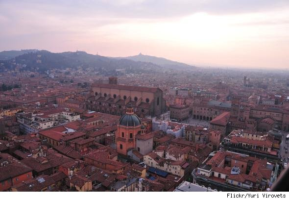 Slowest growing cities: Bologna, Italy.