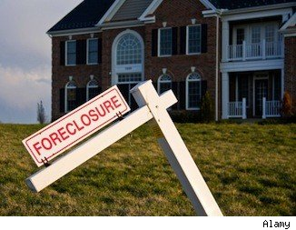 Foreclosure sales increase.