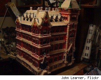 John Learner gingerbread house