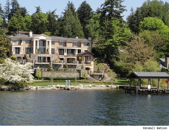 Mercer Island waterfront home 
