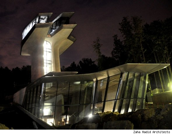 Naomi Campbell's Spaceship Home