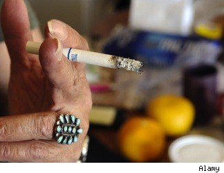 Second Hand Smoke In Apartment Buildings