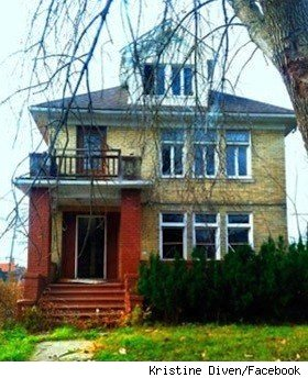 One Detroit house demolished included this home of Kristine Diven and Micho McAdow.