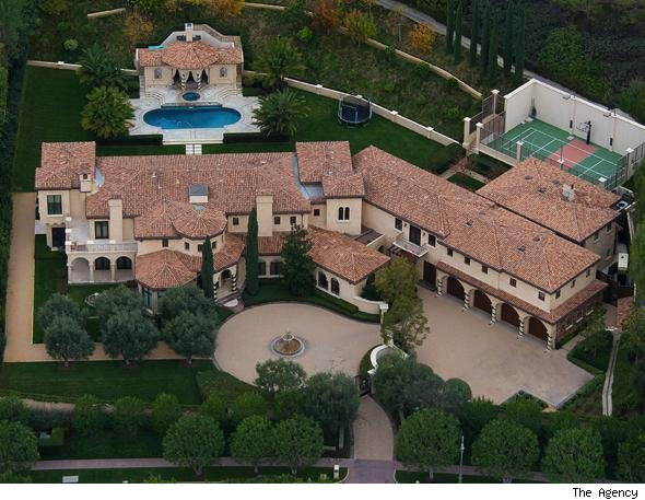Barry Bonds Beverly HIlls home