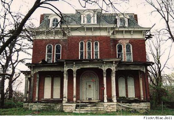 Buying a haunted house often means a discounted price.