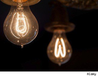 incandescent lightbulbs