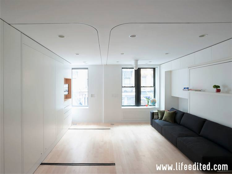 Nyc S Amazing Transformer Apartment Puts 6 Rooms In 1