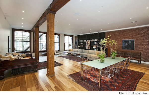 Spacious nyc loft for sale proves there 39 s more than for Lofts in nyc for sale
