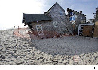 Hurricane Sandy storm damage
