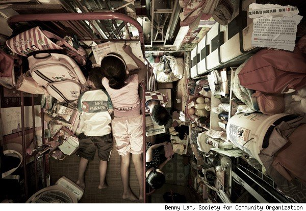 Hong Kong's 40-Square-Foot Apartments Will Make You Squirm | AOL ...