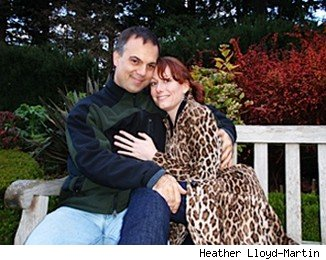 Living apart together: Ron Blanchette and Heather Lloyd-Martin