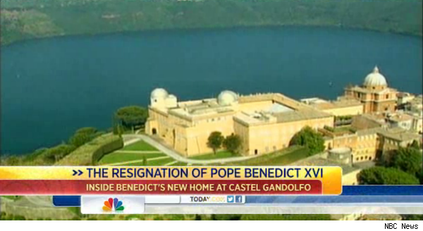 Pope Benedict home, Castel Gandolfo