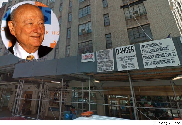 Ed Koch, rent-controlled apartment building