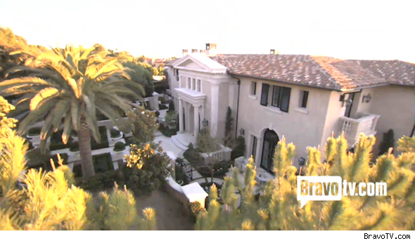 Heather Dubrow home in Newport Beach