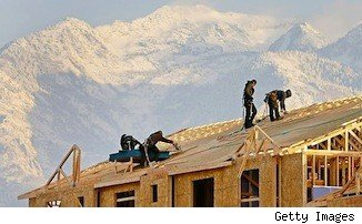 New home sales rise; homebuilders ar work.