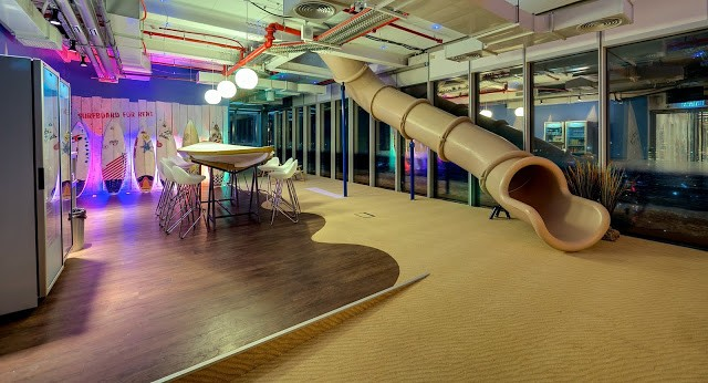 Design Of Google 39 S Tel Aviv Office May Leave You Agog