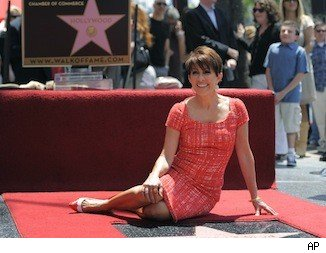 Patricia Heaton gets her star on the Walk of Fame.