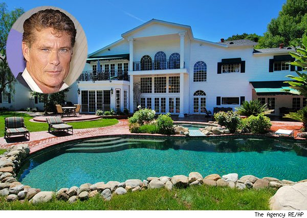 David Hasselhoff home, Encino, Calif.