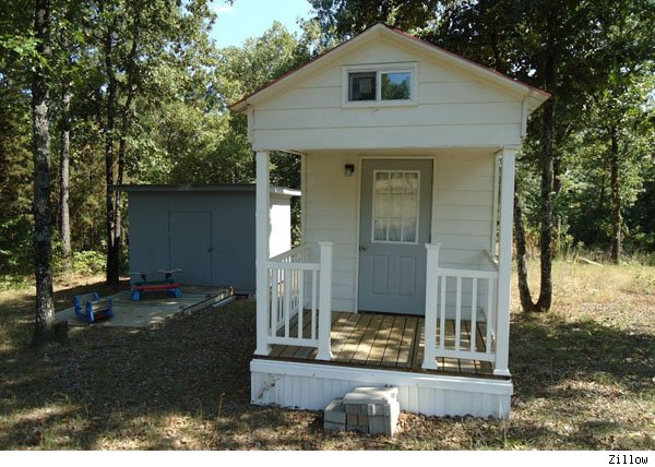Tiny House For Sale In Arkansas Has Everything But Room