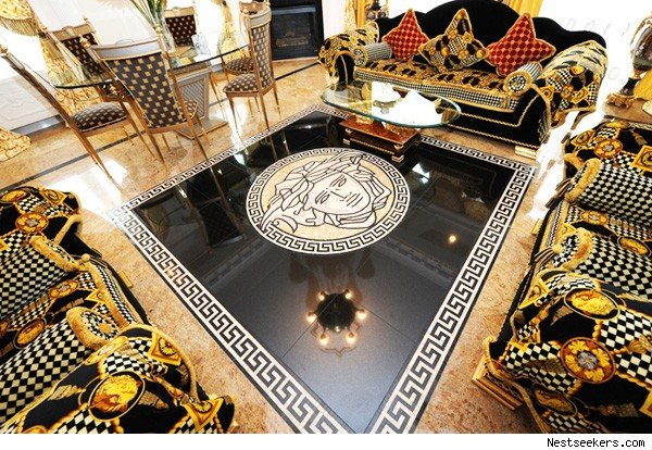 Love Versace Enough To Live In A Home Covered The Look