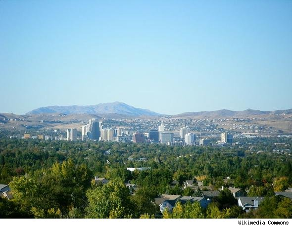 Best housing markets: skyline of Reno-Sparks, Nev.