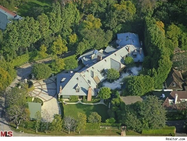 Kelsey Grammer home, Beverly Hills 