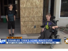 Tyler Leone, Disabled Teen, Gets Home Makeover That Will Change His Life