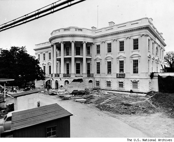 White House reconstruction
