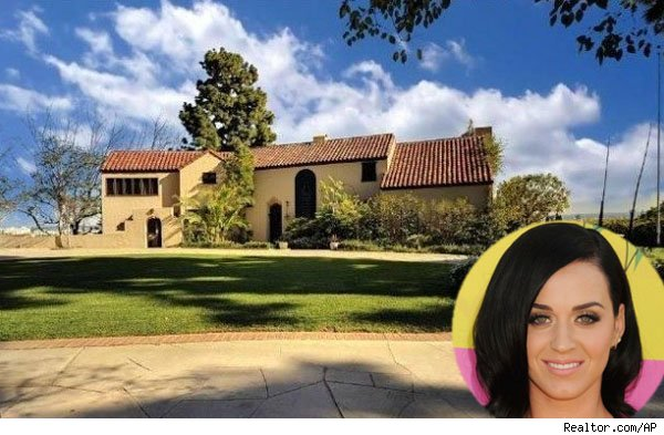 Katy Perry and her home in Los Angeles